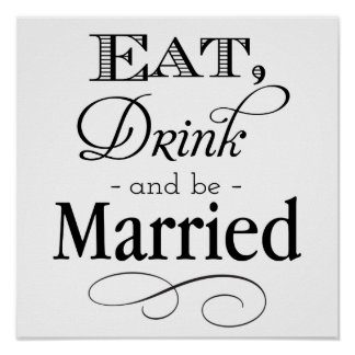 Eat, Drink and Be Married Poster