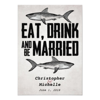 eat drink and be married invitations & announcements | zazzle, Wedding invitations