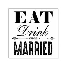 Eat Drink and be Married Wedding