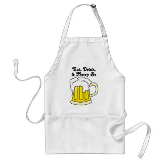 Eat, Drink, and Merry Be for Oktoberfest Adult Apron