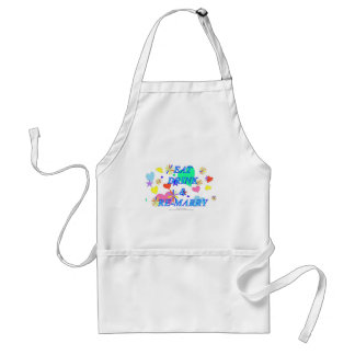 Eat drink and remarry apron