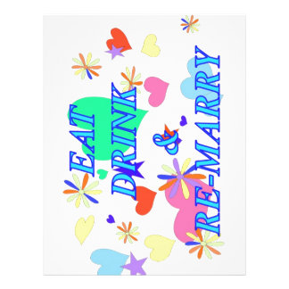 Eat drink and remarry letterhead