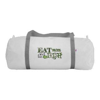 Eat Drink Be Irish Gym Bag