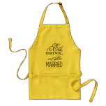 Eat, Drink, Be Married Apron