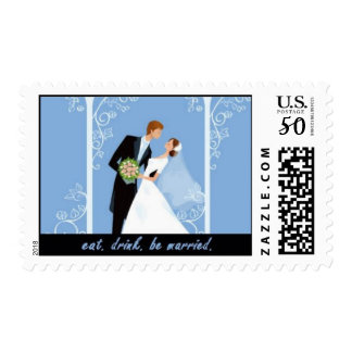 Eat. Drink. Be Married. Postage
