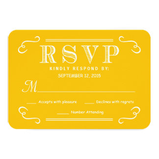 Eat Drink & be Married RSVP Rustic Wedding Reply Card