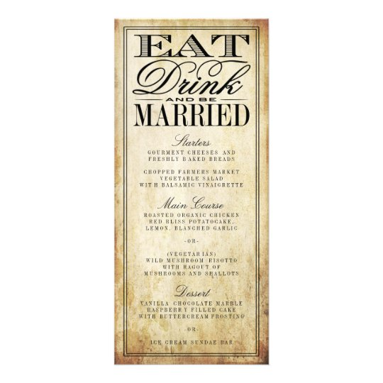 Eat Drink And Be Married Wedding Invitations is nice invitations example