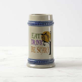 Eat Drink Be Scary Beer Stein