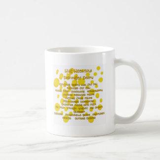 Eat/Drink Dairy Coffee Mug