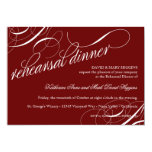 "Eat, Drink Get Married Rehearsal Dinner Invites 5"" X 7"" Invitation Card"