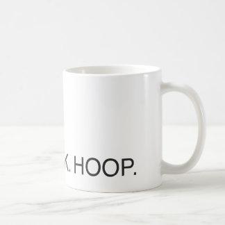 Eat. Drink. Hoop. Commuter Mug