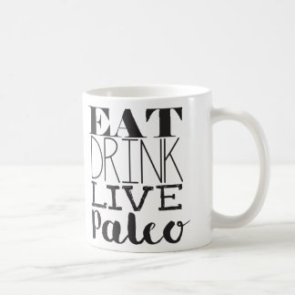 Eat, Drink, Live, Paleo Broth Mug/cup Coffee Mug