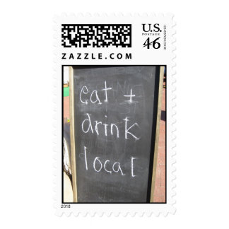 Eat & Drink Local Postage