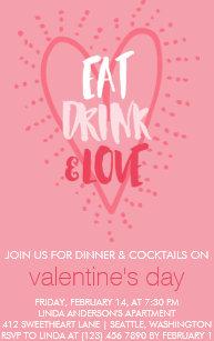 Valentines Day Party Invitations Zazzle
