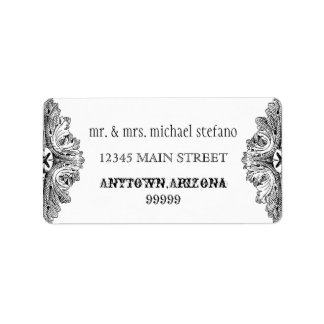 Eat Drink n Get Married Matching Address Labels