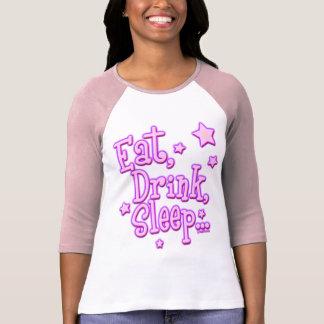 Eat Drink Sleep Dance Shirts
