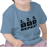 Eat Eat Eat and Repeat Tee Shirt