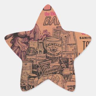 Eat! Eat! Eat! Star Sticker