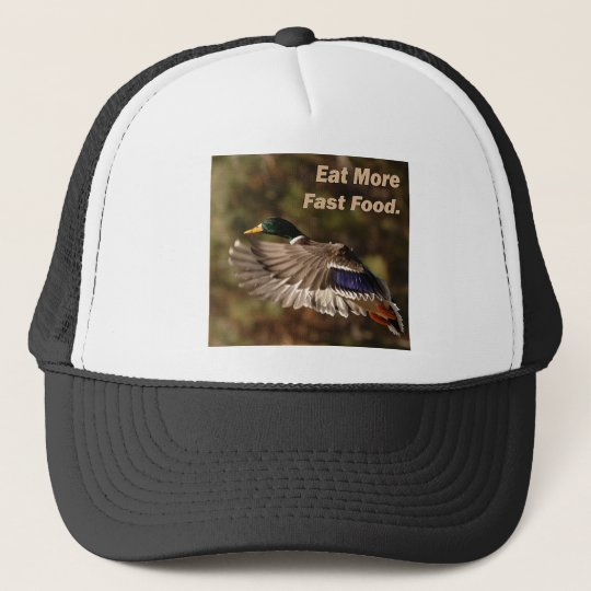 Eat Fast Food II Trucker Hat