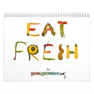 Eat Fresh 2010 Calendar