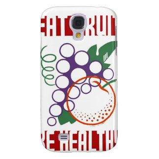 Eat Fruit be Healthy Samsung Galaxy S4 Cases