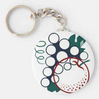Eat Fruit Be Healthy Keychain