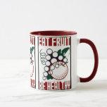 Eat Fruit - Be Healthy - WPA Poster - Mug