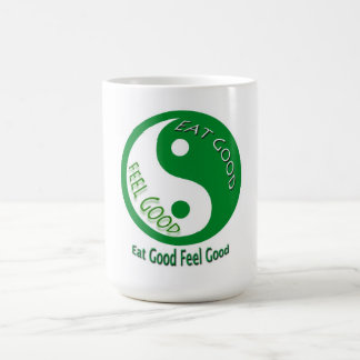 Eat Good Feel Good Diet and Weight Loss Classic White Coffee Mug