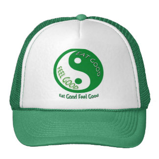 Eat Good Feel Good Diet and Weight Loss Hats