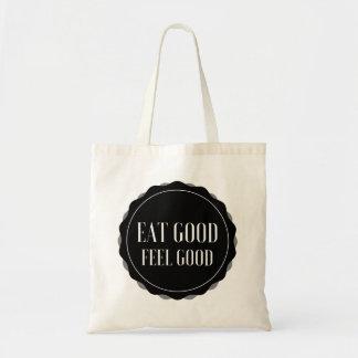 Eat Good Feel Good Tote Bag