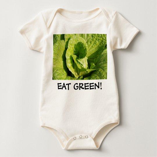 EAT GREEN! BABY BODYSUIT