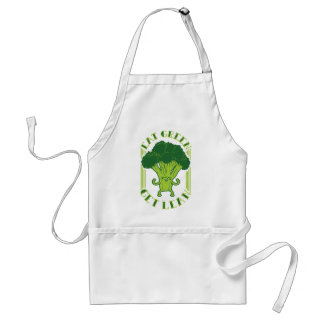 Eat Green Get Lean Adult Apron