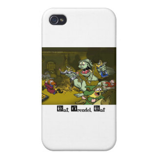 Eat, Grendel, Eat Cover For iPhone 4