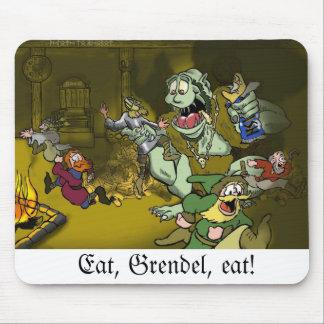 Eat, Grendel, eat! - mousepad