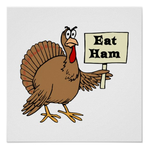 Eat Ham Poster
