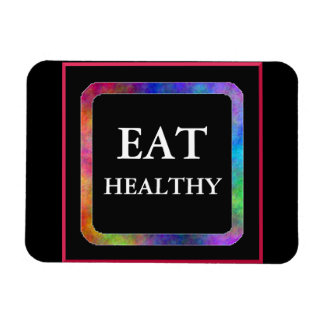 Eat Healthy flexi magnet