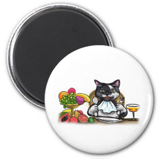 Eat Healthy Meals 2 Inch Round Magnet