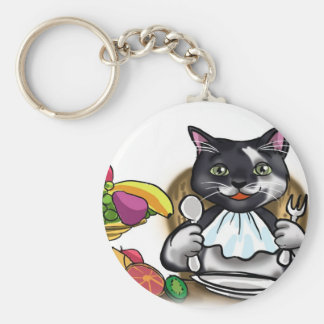 Eat Healthy Meals Keychain