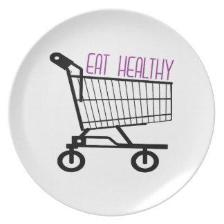 Eat Healthy Dinner Plates