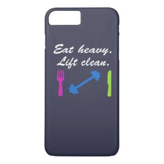 Eat heavy. Lift clean. iPhone 7 Plus Case