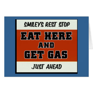 Eat Here and Get Gas Cards