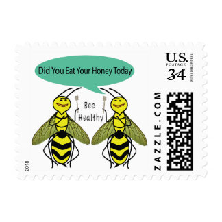 Eat Honey Every Day Postage