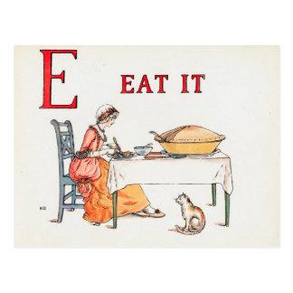 EAT IT POSTCARD