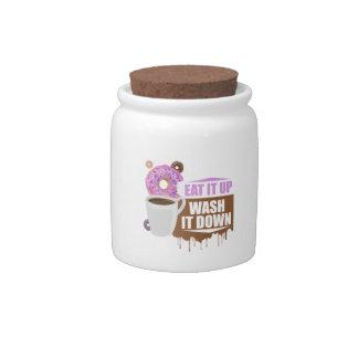 Eat It Up - Wash It Down Candy Jar