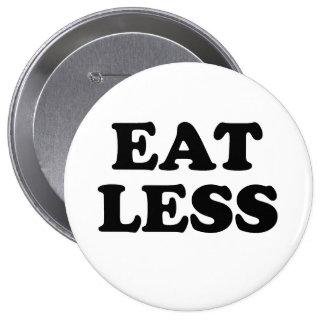 EAT LESS PINS