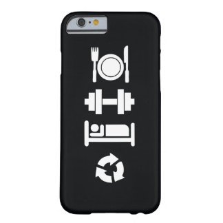Eat, Lift, Sleep, Repeat Barely There iPhone 6 Case
