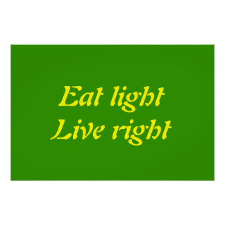 eat light poster