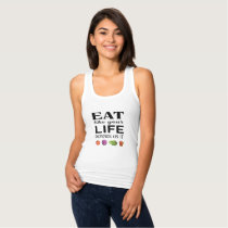 Eat like your life depends on it with veggies tank top