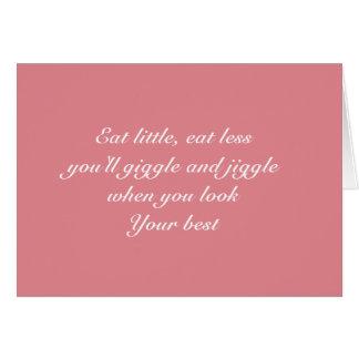 Eat little card