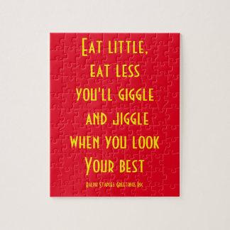 Eat little jigsaw puzzle